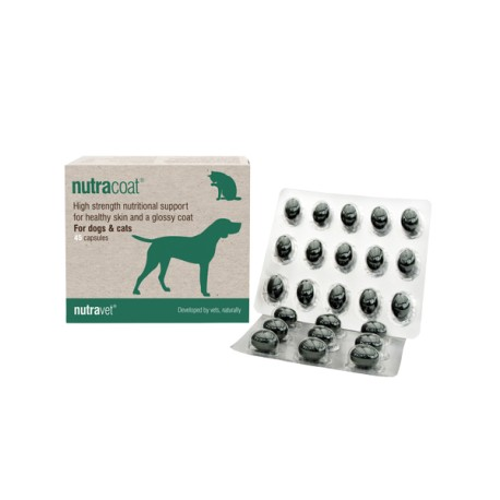 Nutracoat - caini si pisici 45 capsule